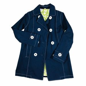 Boden Navy Blue Trench